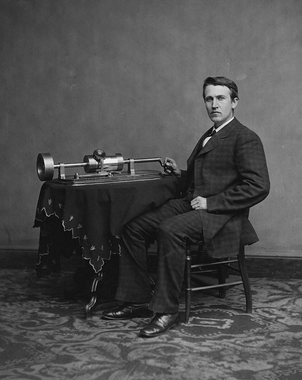 Edison and phonograph edit1