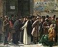 Eduardo Matania Beim Die geschlossene Bank 1870s.jpg