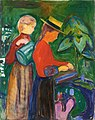 Edvard Munch - Girls Watering Flowers (The Linde Frieze).jpg
