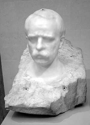 E. H. Harriman - Bust of Edward H. Harriman by Auguste Rodin