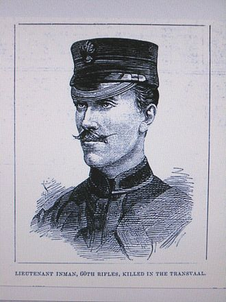 Henry Inman (police commander) - Edward Master Lipson Inman, son of Henry INMAN (1816-95), by an unknown staff artist, Illustrated London News, 12 March 1881, page 253