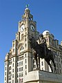 Edward VII and the Royal Liver Building - geograph.org.uk - 2488139.jpg