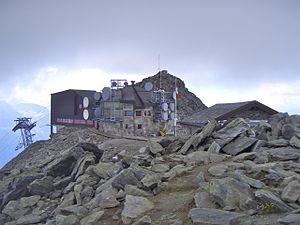 Eggishorn - Image: Eggishorn summit