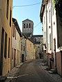 Eglise de la Madeleine (Tournus) depuis la rue des boucheries.jpg