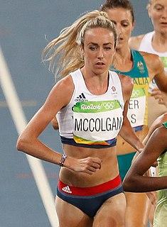 Eilish McColgan British middle-distance runner