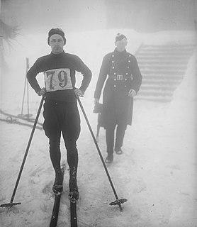Einar Landvik Norwegian nordic combined skier