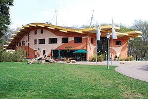 Magdeburg Zoo - Entrance