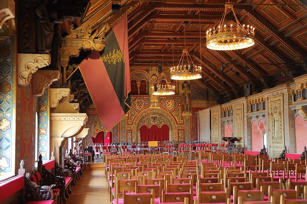 Eisenach Wartburg Festsaal 15