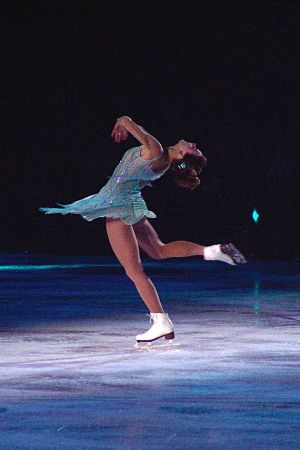 Ekaterina Gordeeva - Gordeeva performs solo in Smucker's Stars on Ice at the Arena at Harbor Yard in Bridgeport in 2007