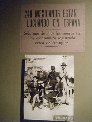 Mexican immigration to Spain - Mexican community in times of Francoist Spain.
