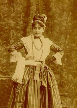 The Mistress of the Inn - Eleonora Duse as Mirandolina in 1891.