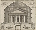 Elevation of the Pantheon in Rome, reconstructed to its original form MET DP847228.jpg
