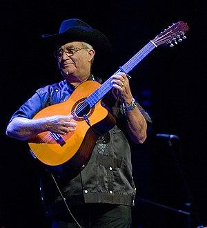Eliades Ochoa - Ochoa performing live May 2009 Photo: Juan Gonzales Andres