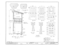 Elisha Bedwell House, Yamhill, Yamhill County, OR HABS ORE,36-YAMHI.V,2- (sheet 8 of 10).png
