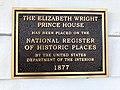 Elizabeth Wright Prince House Historical Marker, Highlands, NC (45728183125).jpg