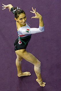 Elsa García (gymnast) Mexican artistic gymnast