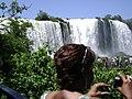 Em 2012 visita as Cataratas do Foz de Iguaçú-Paraná,BR.jpg