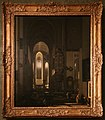 Emanuel de witte, interno immaginario di una chiesa cattolica, 1668.jpg