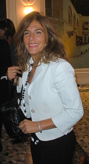 Emma Marcegaglia, italian businesswoman.