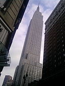 Empire state building taken with an LG Chocolate