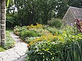 English Limestone Cottage with Garden in full bloom (9712071040).jpg