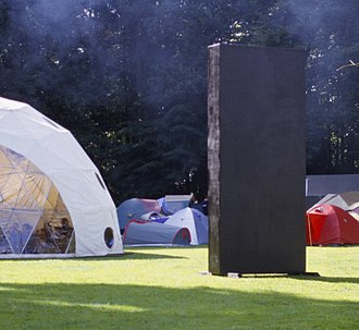 Monolith (Space Odyssey) - A replica monolith prop