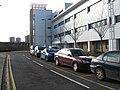 Entrance and disabled car park at the Royal Infirmary of Edinburgh - geograph.org.uk - 1706731.jpg