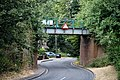 Epping Ongar Railway bridge at Coopersale, Essex, England 01.jpg