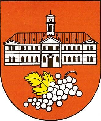 Nové Mesto, Bratislava - Image: Erb Nového Mesta, Bratislava 2