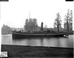 "Steamboat - Dutch river steam-tugboat ""Mascotte II"""