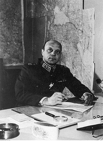 Erik Heinrichs - Army's commander-in-chief Axel Erik Heinrichs