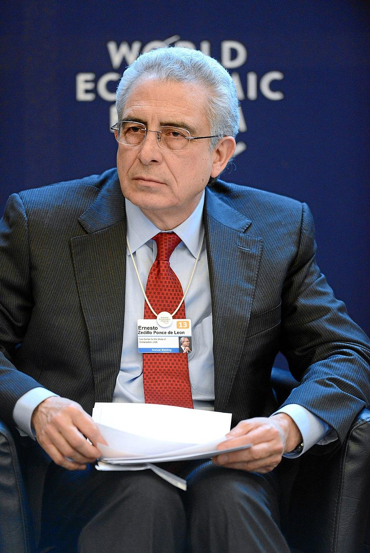 Ernesto Zedillo Ponce de Leon World Economic Forum 2013