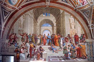 Art patronage of Julius II - Raphael, School of Athens