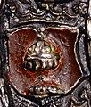 Escudo da Galiza na medalha de Nüremberg adicada a Carlos V (1521) (2).jpg