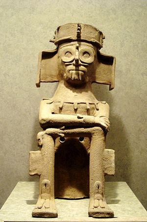 Dzahui - Dzahui, Mixtec god of rain.