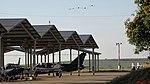 Esquadrilha BR Aviation (antiga Oi e Onix Jeans) chegando na Academia da Força Aérea (AFA) em Pirassununga para a exibição no Domingo aéreo 2015. Em destaque os 3 North American T-6 Texan - panoramio.jpg