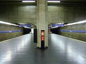 Line 1 (São Paulo Metro) - Jardim São Paulo Metro Station.