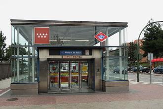 Manuel de Falla (Madrid Metro) - Image: Estación de Manuel de Falla