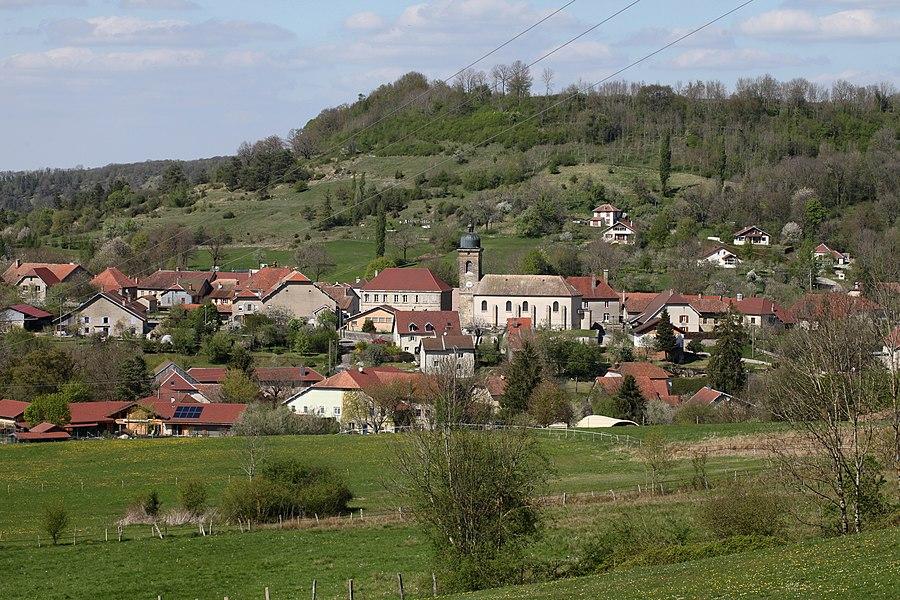 Vue d'Éternoz (Doubs).