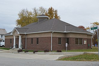 Etna Township, Licking County, Ohio - Township hall at Etna