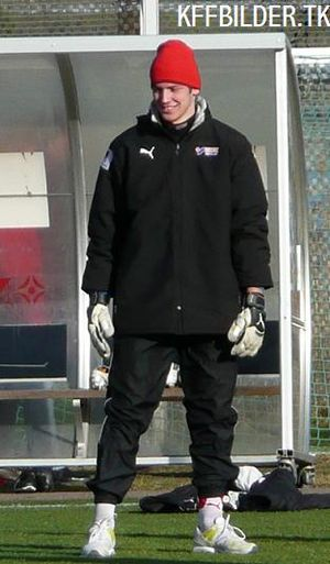 Etrit Berisha - Berisha in training with Kalmar FF in 2008