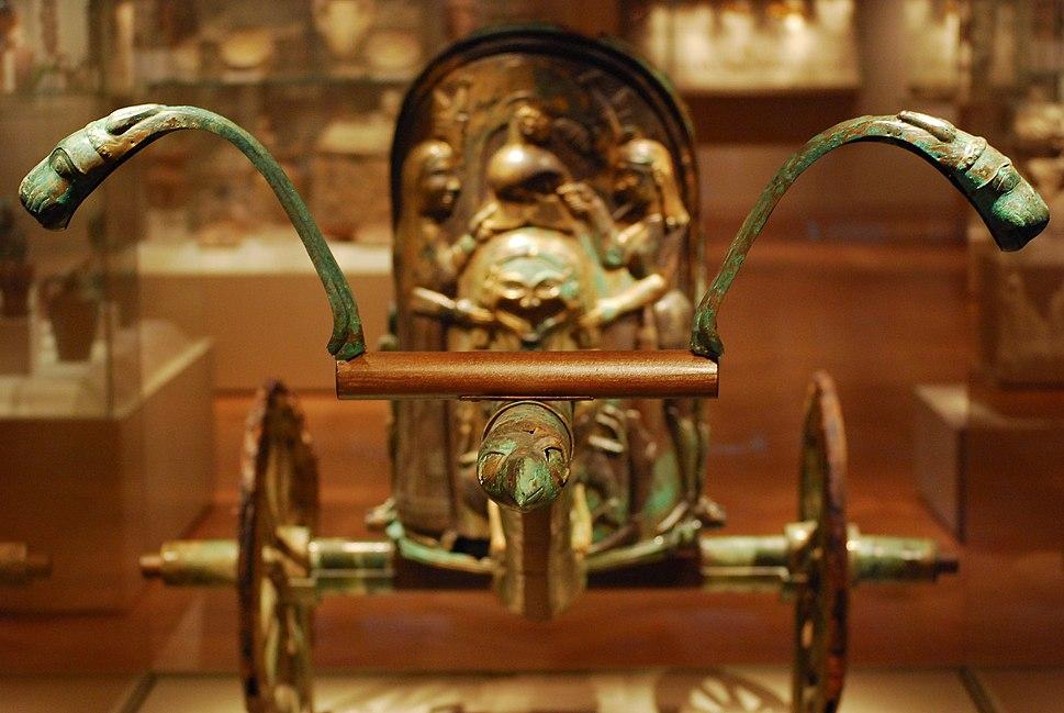 Etruscan chariot of Monteleone di Spoleto
