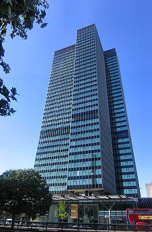 Euston Road - Euston Tower in 2004