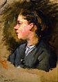Eva Gonzalès - Jeanne Gonzalès de profil (not in CR).jpg