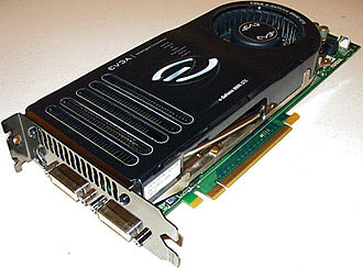 GeForce 8 series - EVGA GeForce 8800 GTX