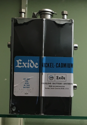 Exide - An Exide Nickel Cadmium battery