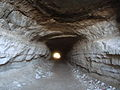 Extrémité2 du souterrain Civita di Bagnoregio.JPG