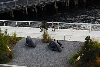 Olympic Sculpture Park - Eye Benches I, II and III