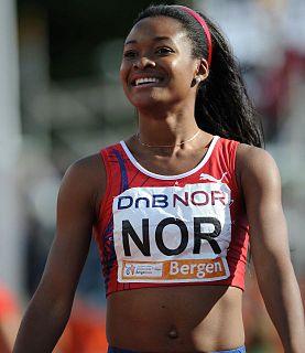 Ezinne Okparaebo Norwegian athletics competitor