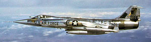 479th Tactical Training Wing - Lockheed F-104C-5-LO Starfighter, AF Ser. No. 57-0926, 479th Tactical Fighter Wing, circa 1960.